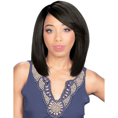 Zury Sis Unprocessed Human Hair Only Blue Wet & Wavy Weave – Natural Body 8""