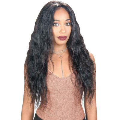 Zury Sis Wet & Wavy 100% Unprocessed Human Hair 360° Whole Lace Wig – Loose Wave 26""
