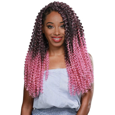 Zury Synthetic Pre-Stretched Braids – 3X Water Wave 20""