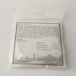 Pack of Professional Strings For Turkish Oud OSO-304