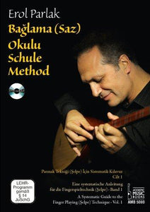 Baglama Saz Method By Erol Parlak In English, Deutsch, Turkish