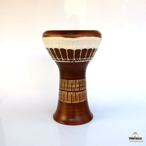 Professional Clay Ceramic Solo Darbuka By Emin Percussion EP-104-A