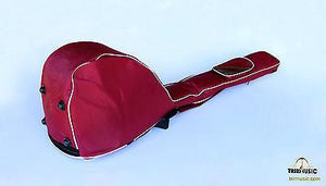 Back view of Professional Gig Bag For Turkish Long Neck Saz Baglama BGL203