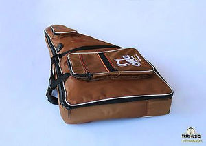 Back view of Padded Gig Bag For Kanun BCK-106