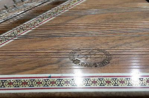 Close-up of Professional Double Side Sadeghi Santoor