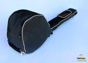 Back view of Professional Gig Bag For Turkish Short Neck Saz Baglama BGS-210