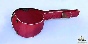Back of Professional Gig Bag For Turkish Long Neck Saz Baglama BGL203