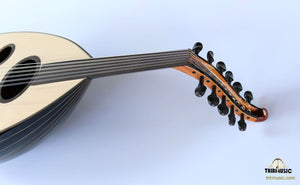 Arabic Handmade Walnut Oud AAO-108 (string view)