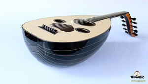 Arabic Handmade Walnut Oud AAO-108 (face view)