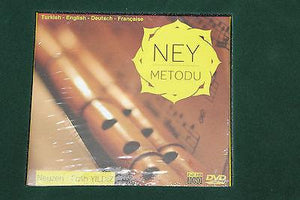 Turkish Plastic Ney Dvd Book Cd English German French - Sala Muzik