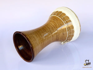 Professional Solo Clay Darbuka KIK-623 bottom view