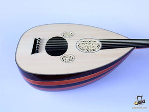 Professional Turkish Oud HSO-341 face