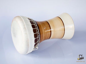 Professional Solo Clay Darbuka KIK-823 side view