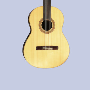 Special Quality Fretless Classical Guitar SGP-404 face