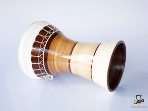 Professional Solo Clay Darbuka KIK-823 bottom view