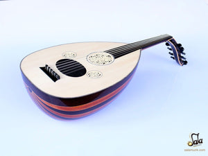 Top view of Professional Turkish Oud HSO-341