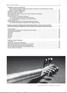 Baglama Saz Method By Erol Parlak In English, Deutsch, Turkish (page sample 1)