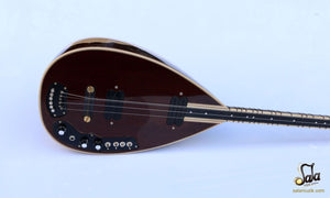 Face of Professional Long Neck Maple Electric Saz YSE-103