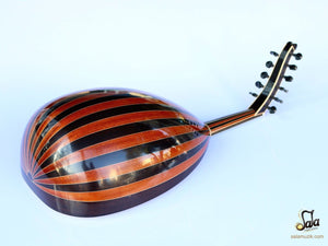 Back view of Professional Turkish Oud HSO-341