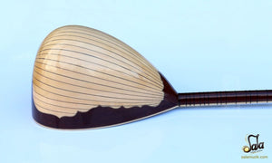 Bowl of Professional Long Neck Maple Electric Saz YSE-103