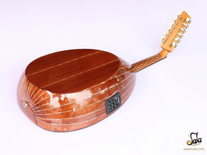 Electric oud instrument