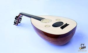 Professional Left Hand Turkish Oud HSO-302L top view