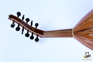 Professional Left Hand Turkish Oud HSO-302L neck and pegs