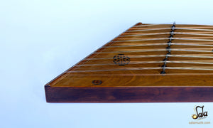 left side of the santoor