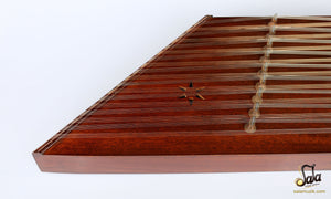 Front view of Santoor With Hard Case NAS-202
