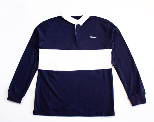 Classic Logo Navy Rugby