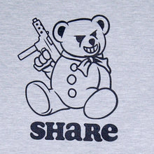 Load image into Gallery viewer, Share Bear Crewneck Grey