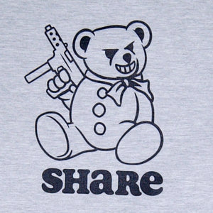 Share Bear Crewneck Grey
