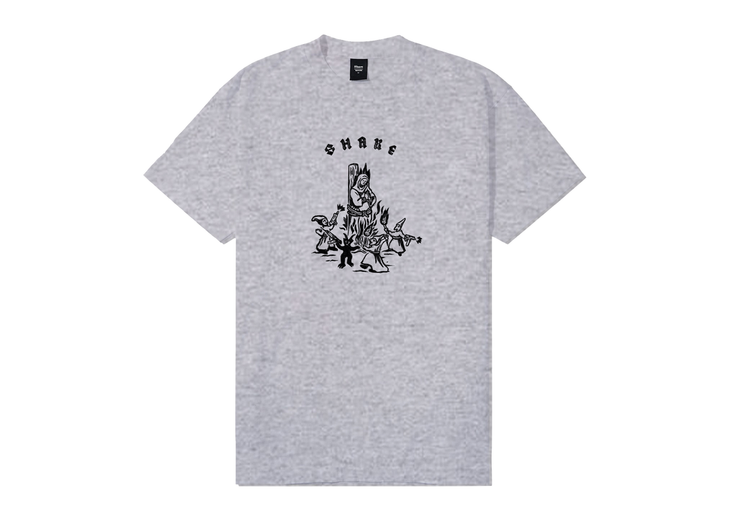 Share Nun T-Shirt Heather Grey