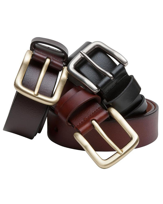 Hoggs Leather Belt Brown