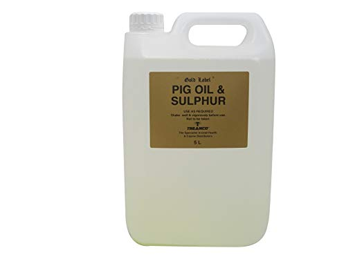 Pig Oil And Sulphur 1litre