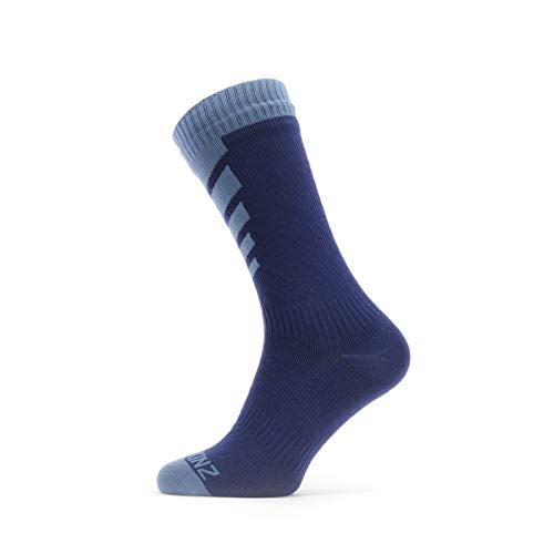 Sealskinz WP Warm Weather Mid Sock S Navy