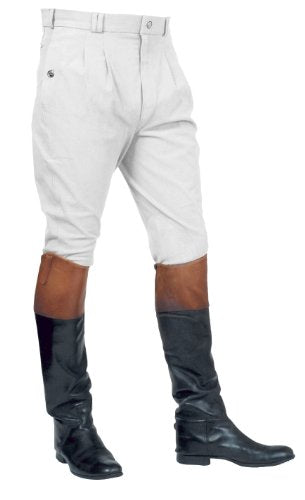 Mark Todd Auckland Breeches Mens White 36""