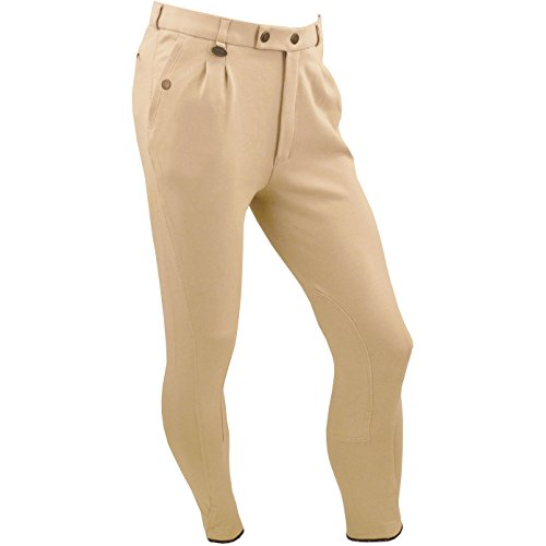 Equetech Mens Casual Breeches Beige