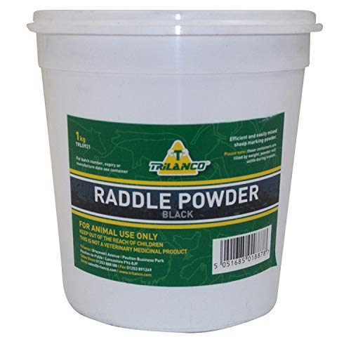 Trilanco Raddle Powder Black 1kg