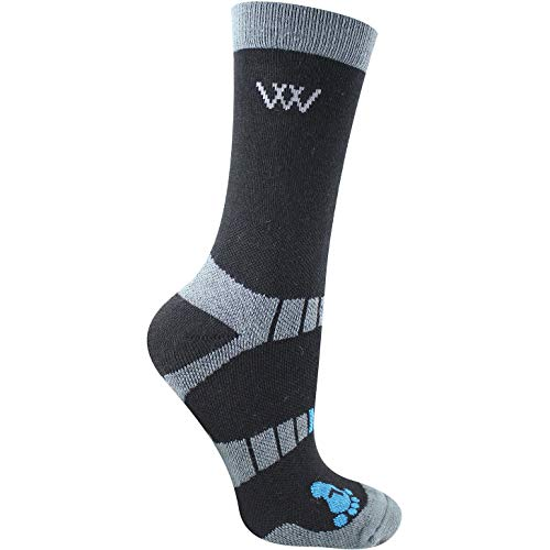 Woof Short Riding Socks S Black(2)