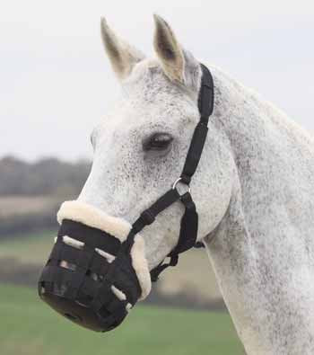 Fleece Lined Grazing Muzzle Pony