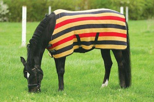 Rambo Newmarket Fleece Rug Gold