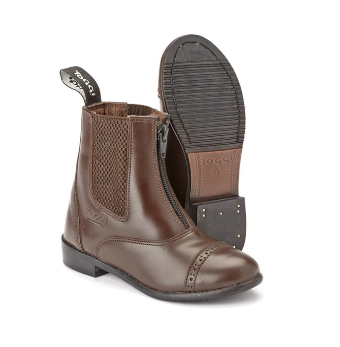 Toggi Augusta Zip Jod Childs Boot Brown