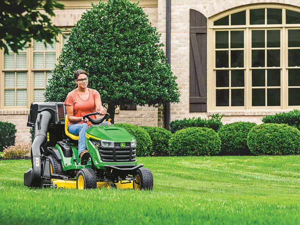 John Deere launches the new S100 series of ride on mowers – on sale now at Sunshine Coast Mowers