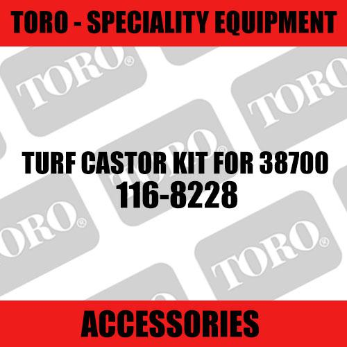 Toro - Turf Castor Kit for 38700 (Speciality)