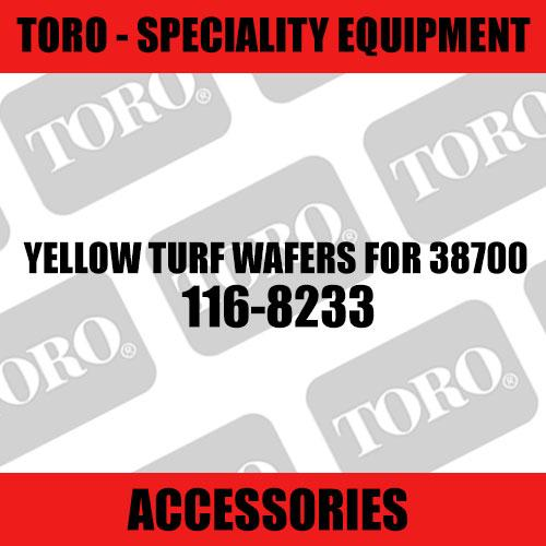 Toro - Yellow Turf Wafers for 38700 (Speciality)