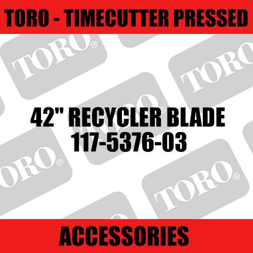 "Toro - 42"" Recycler Blade (TimeCutter Pressed)"