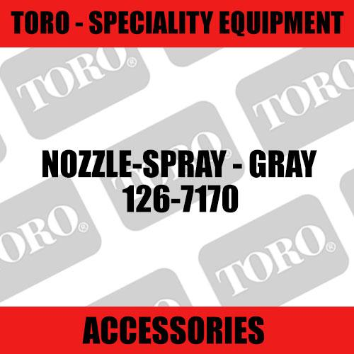 Toro - Nozzle-Spray - Gray (Speciality)