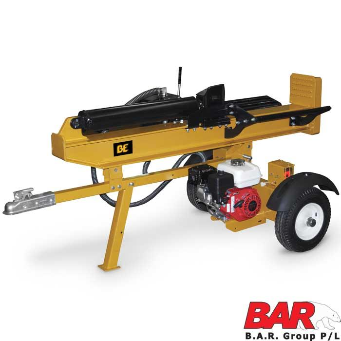 B.E Log Splitter - Honda GP200 Engine - 25 TON - (UN-ASSEMBLED $2199) (ASSEMBLED $2299)