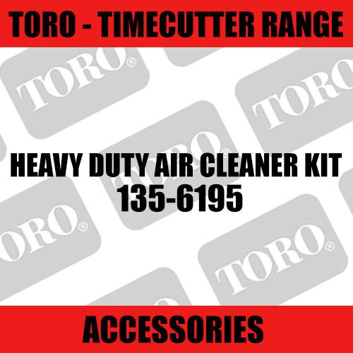 Toro - Heavy Duty Air Cleaner Kit (TimeCutter Range)